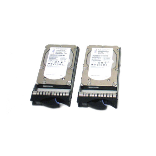 IBM 3678-9406 3678 283GB 15K SAS Hard Drive - Lot of 2