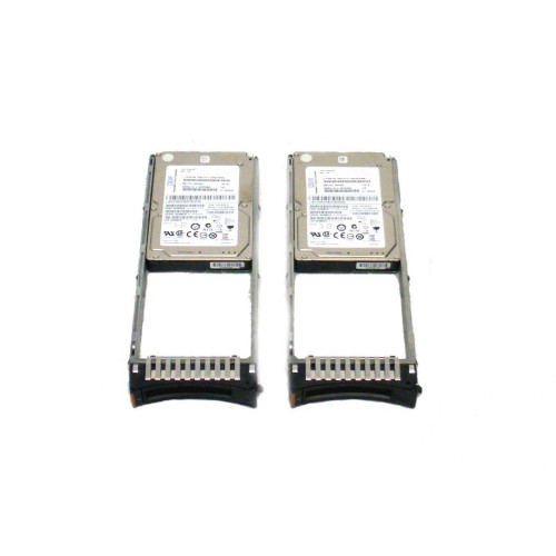 IBM 1947-820X 1947 00E6171 74Y6479 19B0 139GB 15K SAS SFF Gen 2 Hard Drive - Lot of 2