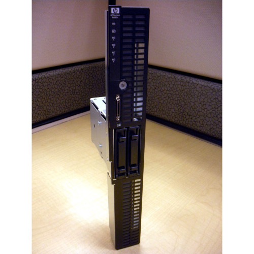 HP 436378-001 Cage Assembly for Hard Drive w/ LED & Bezel for BL685c via Flagship Tech