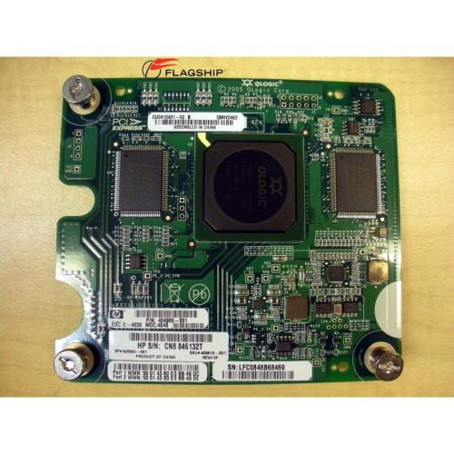 HP 404986-001 403619-B21 Qlogic QMH2462 4Gb FC Mezzanine Board - Lot of 4