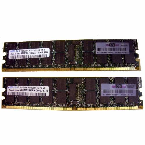 HP 408853-B21 4GB Memory Kit DDR2 PC2-5300