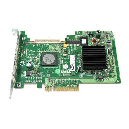 Dell GU186 PowerEdge SAS 5/iR PCIe SAS/SATA RAID Controller Card