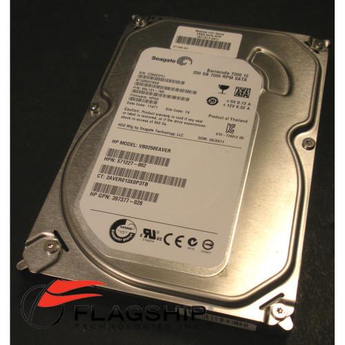 "HP 571517-001 250GB 3G SATA 7.2K LFF 3.5"" NHP HDD"
