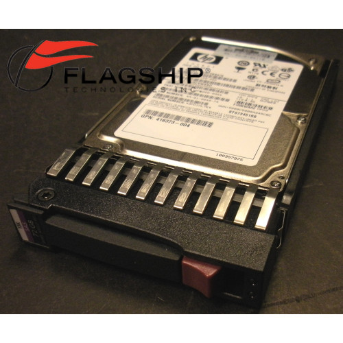 AD379A HP Integrity 73GB 15K 3G SAS SP SFF 2.5in Hard Drive 432321-001 for rx2660 rx2800 rx3600 rx6600 via Flagship Tech