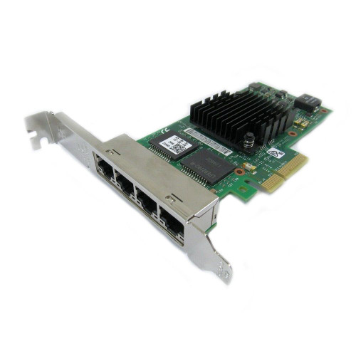 Dell 0NWK2 Network Adapter Intel I350-T4 Quad Port PCI-E