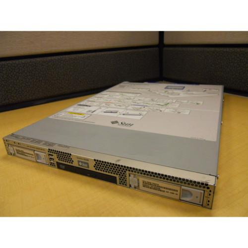 SUN A84-GPZ1 -- X2100 M2 Server DC 2.8GHz 2GB Memory 250GB HD Rack Kit