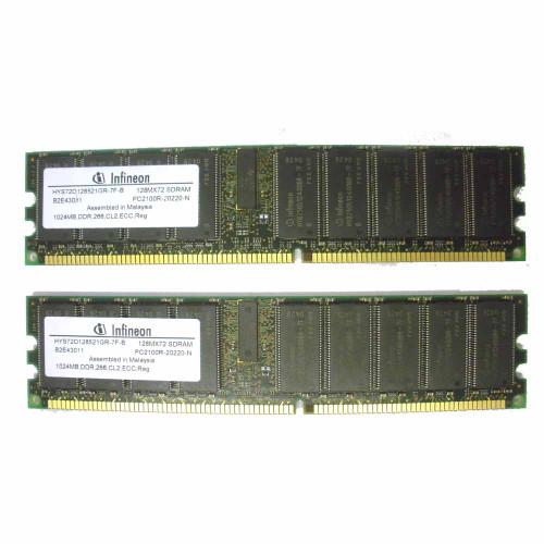 Sun X5124A 370-6040 1GB DDR Dimm V60 V65X