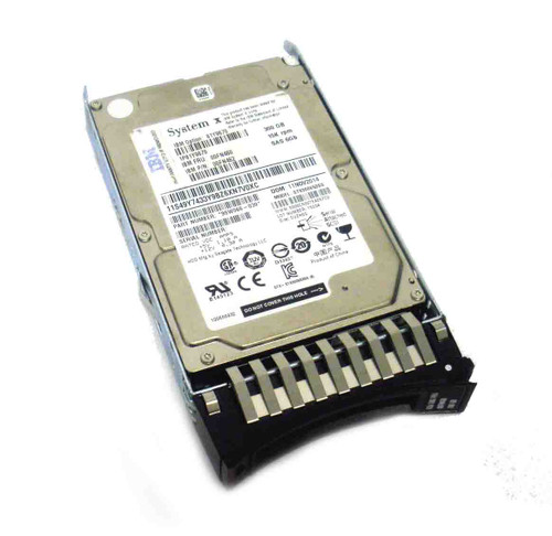 IBM 81Y9670 Hard Drive 300GB 15K SAS 2.5in