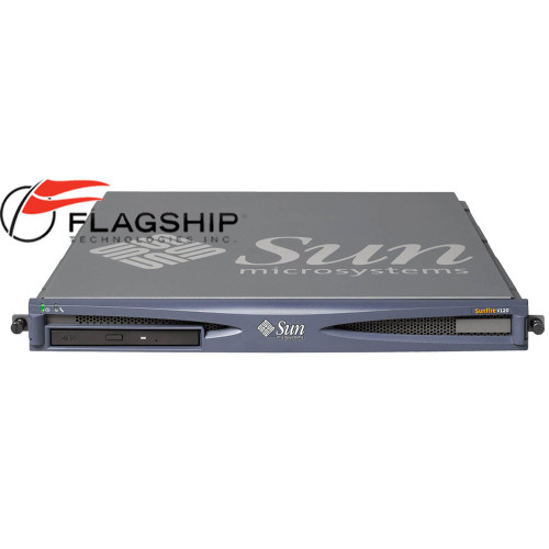 Sun Fire V120 N25-UTA1 Server 650MHz 1GB Memory 73GB HDD Rack Kit
