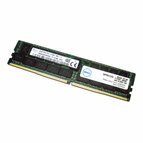 Dell PR5D1 Memory 32GB PC4-2133P 2133MHz Registered ECC - Dell Labeled