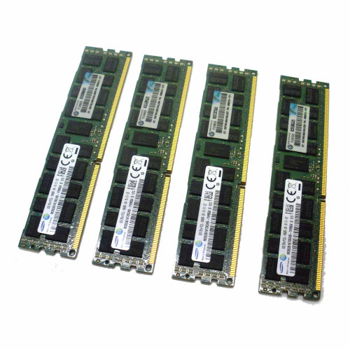 AT127A HP Superdome 2 32GB (4x8GB) PC3L-10600R (DDR3-1333) Registered CAS-9 Memory Kit