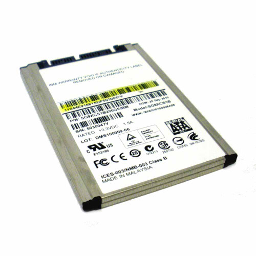 IBM 43W7749 Solid State Drive 177GB 1.8in w/eMLC