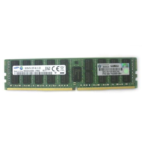 HP 752369-081 Memory 16GB 2Rx4 DDR4-2133 SDRAM