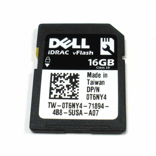 Dell T6NY4 16GB IDRAC VFlash SD Card Module
