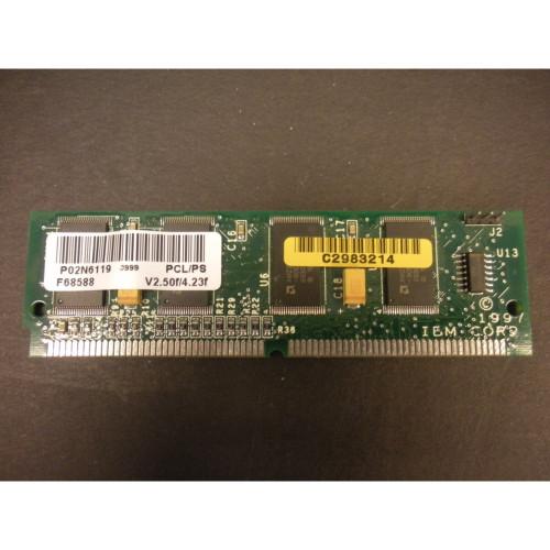 IBM 02N6119 4332 PCL/PS Simm v2.50f/4.23f