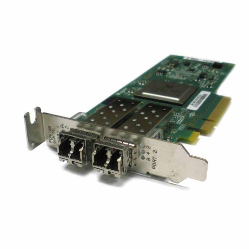 Dell RW9KF QLogic QLE2562L-DEL 8GB 2-Port PCI-e w/SFP
