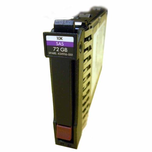 HP 434916-001 Hard Drive 72GB 10K SAS 2.5in