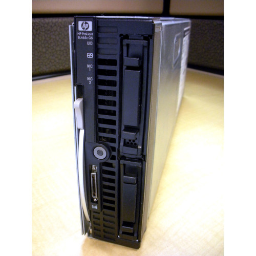 HP 494260-B21 BL465c G5 O2384 2.7GHz Quad Core (1P), 4GB Blade Server via Flagship Tech
