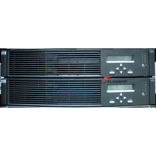 HP AJ757A EVA6400 Dual Controller Array complete with WWN (2x HVS400 Controllers)