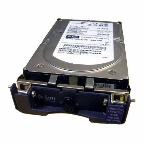 Sun 540-6450 Hard Drive 146GB 10K SCSI 3.5in XTA-SC1NC-146G10K