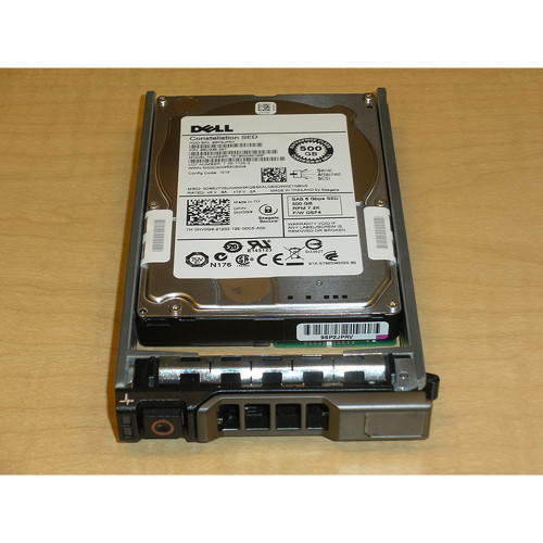 """500GB 7.2K SAS 2.5"""" 6Gbps Hard Drive Dell NV0G9 Seagate ST9500431SS"""