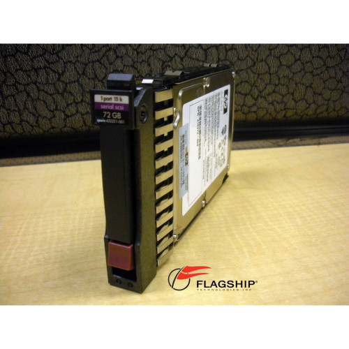 "AD379A HP Integrity 431935-B21 72GB 15K SP SAS SFF 2.5"" Hard Drive 432321-001"
