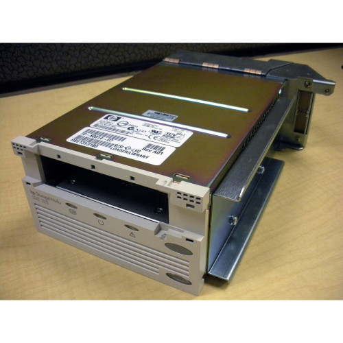 HP 293475-B21 293532-001 MSL5000 SDLT 160/320GB LVD SCSI Tape Drive with tray