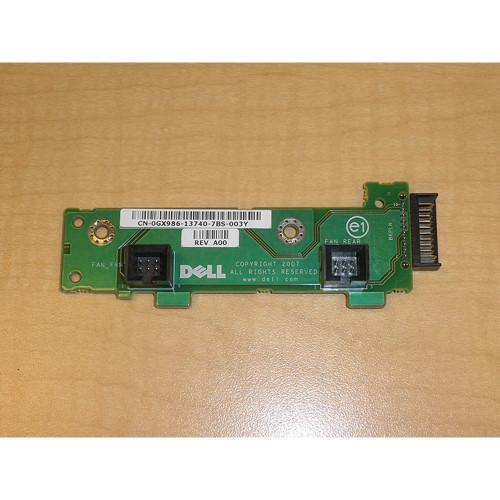 Dell PowerEdge R900 R905 Fan Backplane Interposer Board GX986