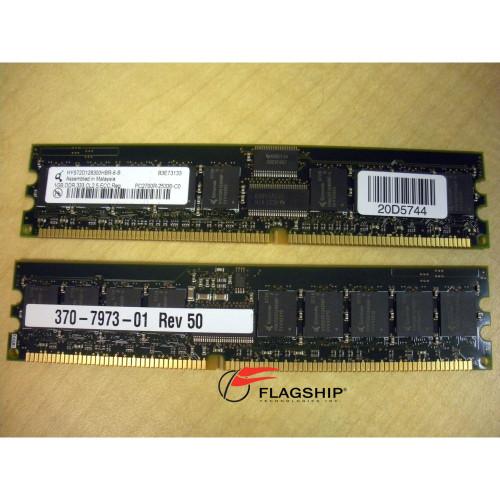 Sun X8704A 540-6467 2GB (2x 1GB) Memory Kit (370-7973) RoHS