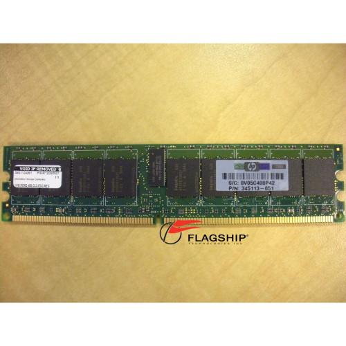 HP 359242-001 1GB (1x 1GB) PC2-3200 DDR2 Memory 345113-051