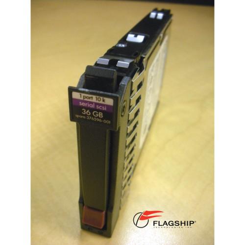 HP 375859-B21 375863-001 36GB 10K 3Gb SAS SFF Hard Drive