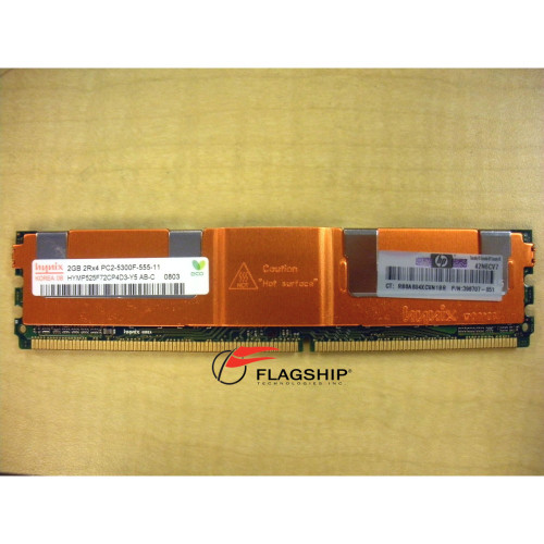 HP 416472-001 2GB (1x 2GB) PC2-5300 Memory Kit 398707-051