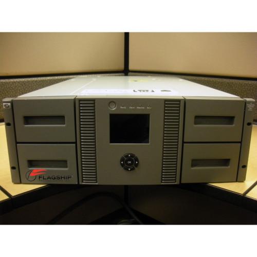 HP AJ038A MSL4048 2x LTO-4 Ultrium 1840 FC Rackmount Tape Library AJ038B