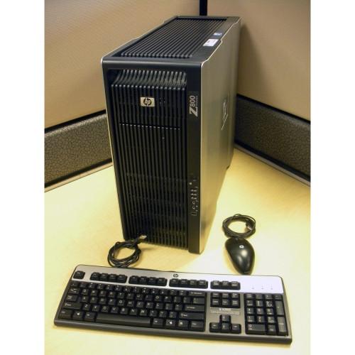 HP FF825AV Z800 Workstation W5580 3.2GHz (2P) 12GB 250GB LINUX VE513AS #ABA