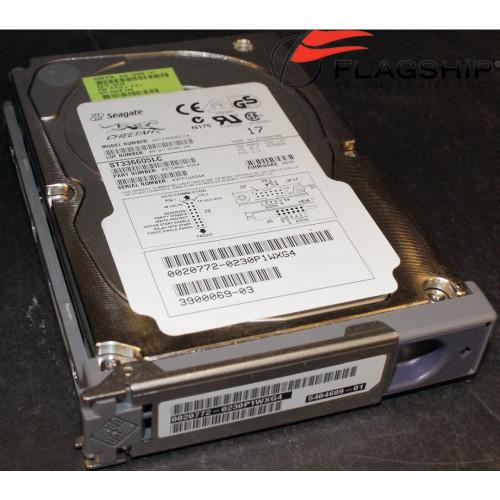 SUN X5244A 36GB SCSI NEBS Compliant HDD w/Bracket