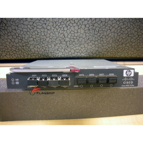 HP AG642A 444573-001 Cisco MDS 9124e 24-Port Fabric Switch for BLc3000 BLc7000