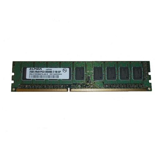 2GB (1x2GB) PC3-8500E 2Rx8 1066MHz Memory RAM UDIMM Dell F626D