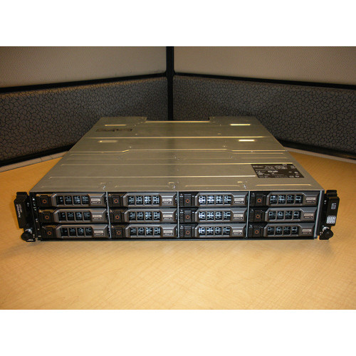 Dell PowerVault MD1200 Storage Array Enclosure 12 x 500GB 7.2K SAS Hard Drives