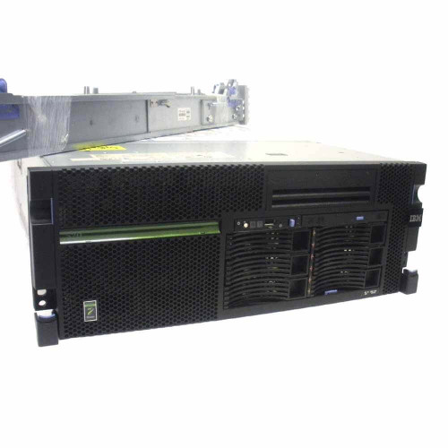 IBM 8203-E4A iSeries 520 Single Core 4.2GHz 2GB 2x 139GB 80GB Tape OS 5.4 5 User
