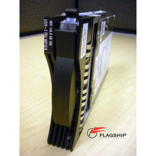 IBM 90P1310 146GB 10K U320 SCSI Hard Drive Disk via Flagship Tech
