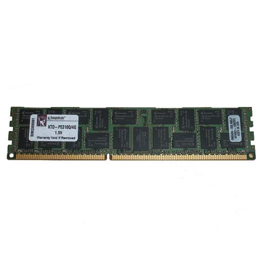 4GB (1x4GB) PC3-8500R 4Rx8 1066MHz Memory RAM RDIMM Kingston KTD-PE310Q/4G