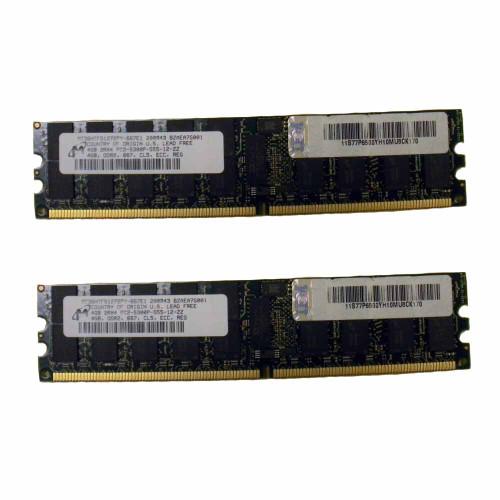 IBM 4523-82XX 8GB (2x 4GB) Memory Kit PC2-5300P 77P6500