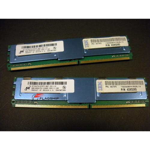 IBM 46C7577 16GB (2x 8GB) Memory Kit for BladeCenter HS21 46C7576 43X5285