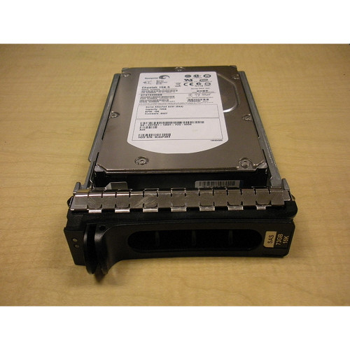 """400GB 10K SAS 3.5"""" 3Gbps Hard Drive Dell MM407 Seagate ST3400755SS"""
