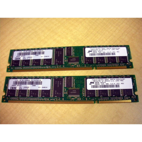 IBM 4443-9406 512MB (2x 256MB) Memory Kit (12R9283, 53P3222) via Flagship Tech