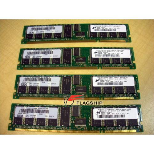 IBM 4444-9406 1GB (4x 256MB) Memory Kit 12R9283 53P3222 309B