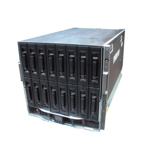 "HP 507015-B21 BLc7000 1PH 6x P/S, 10x Fan, VGA, 3"" LCD OA Gen2 RoHS Enclosure (NO ICE LTU'S)"