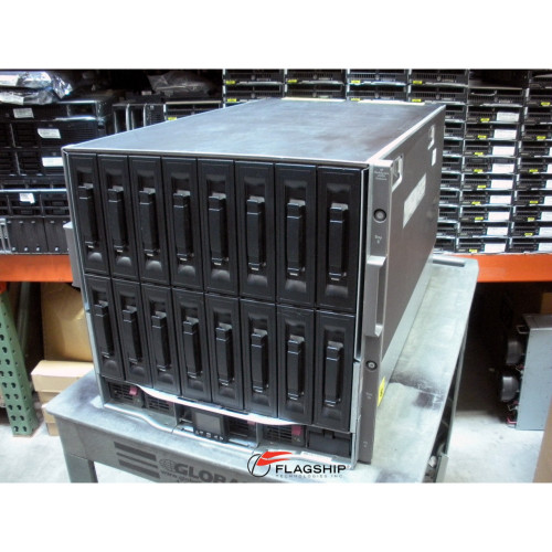 HP 403321-B21 BLc7000 Single Phase 2x P/S, 4x Fan Enclosure (NO ICE LTU'S)