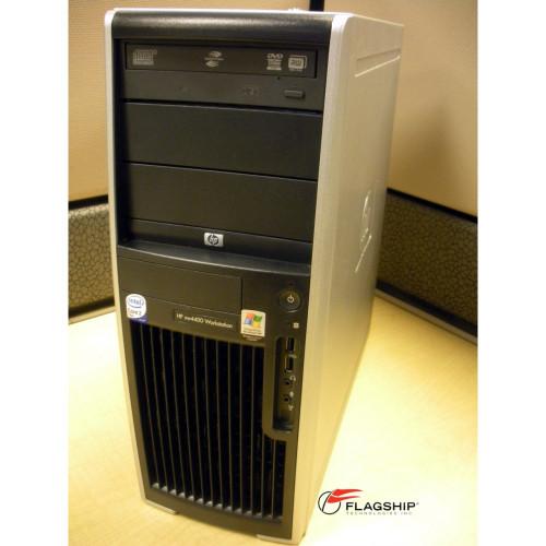 HP xw4400 ET115AV Intel Core 2 Duo E6300 Processor 1.86GHz, 2GB, 160GB, DVD+/-RW, XP Pro