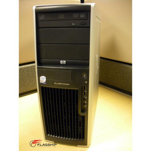 HP xw4400 RB284UA#ABA Intel Core 2 Duo E6600 Processor 2.40GHz, 4GB, 250GB, DVD-RW, XP Pro